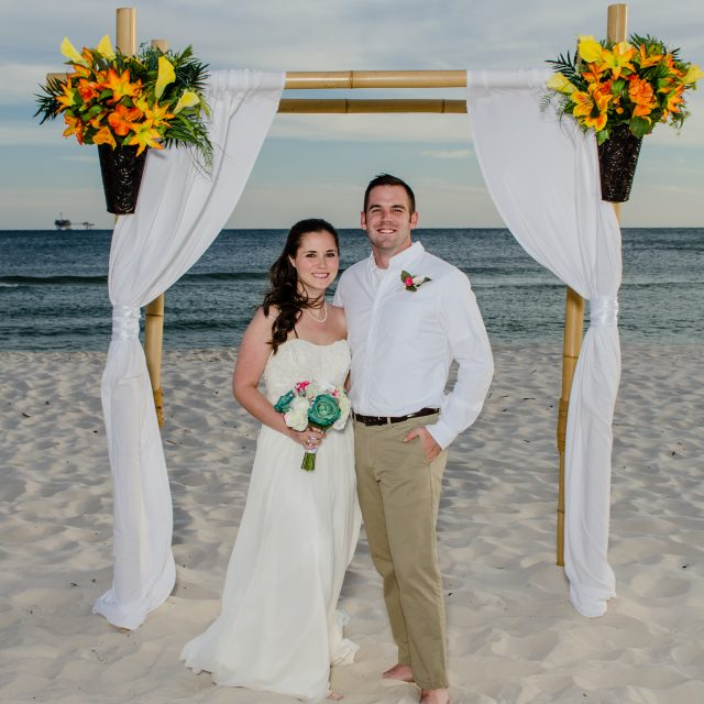 Florida Beach House Weddings: Gulf Shores Beach Weddings- Including Perido Key, FL