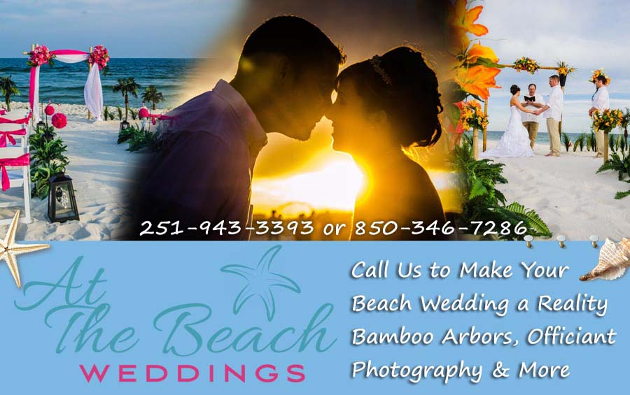 At The Beach Wedding Header Both Short Gulf Ss Weddings